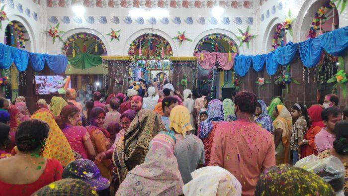 dol celebrations in Nabadwip